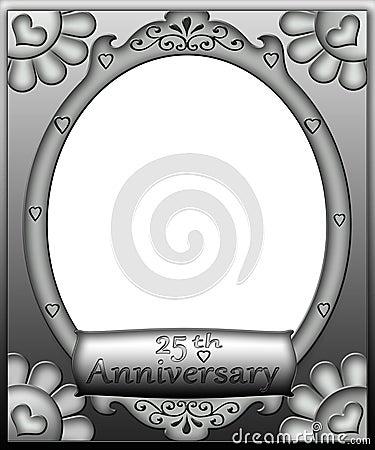 25th Anniversary Frame Border