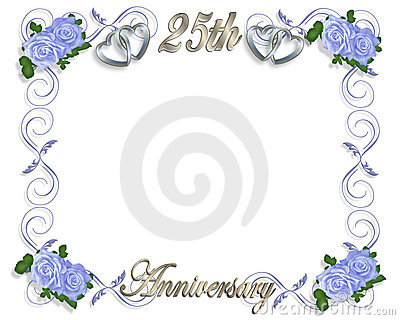 25th Wedding Anniversary Royalty Free Stock Images - Image: 11363469