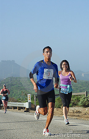 25th Big Sur International Marathon Winner Editorial Image