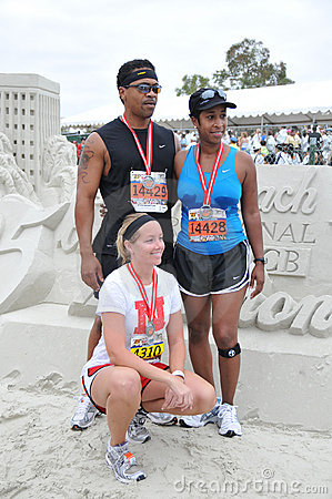 25th Long Beach Marathon 2009 Editorial Photography