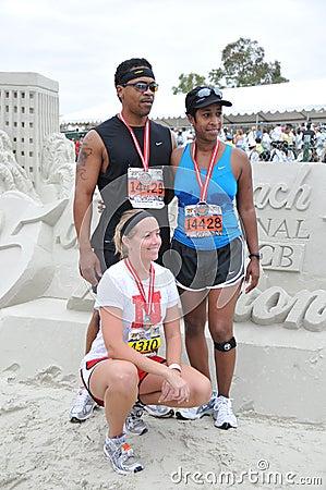25th Long Beach Marathon 2009 Editorial Photography