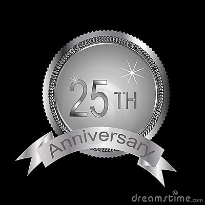 25th or silver anniversary