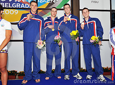 25th summer Universiade Editorial Photo