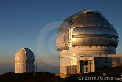 26 Observatory on Mauna Kea Hawaii