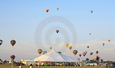 The 26th Annual New Jersey Balloon Festival Editorial Photography