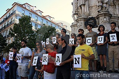 28 August: 100 Cities against Stoning Editorial Photo