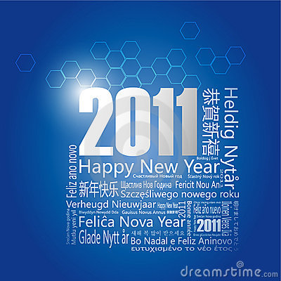 28 languages said Happy New Year in 2011.