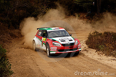 29° Rally Costa Smeralda - Italy Editorial Stock Image