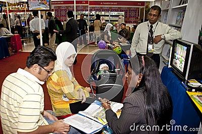 29th Kuala Lumpur International Book Fair 2010 Editorial Photo