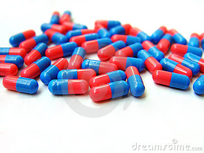 2colored capsules