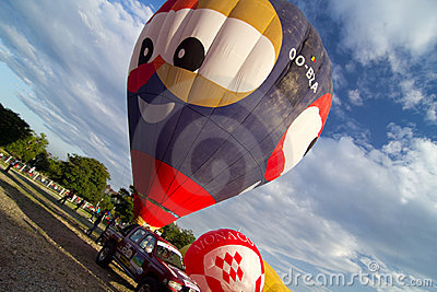 2nd Malaysia- Putrajaya Hot Air Ballon Fiesta Editorial Photo