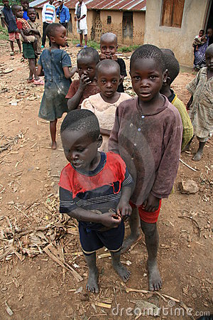2nd Nov 2008. Refugees from DR Congo Editorial Photo
