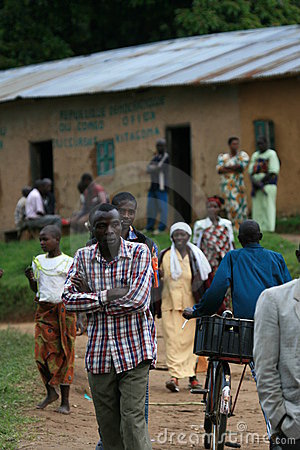 2nd Nov 2008. Refugees from DR Congo Editorial Image