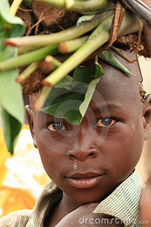 2nd Nov 2008. Refugee from DR Congo Editorial Stock Photo