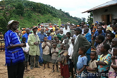 2nd Nov 2008. Refugees from DR Congo Editorial Photography