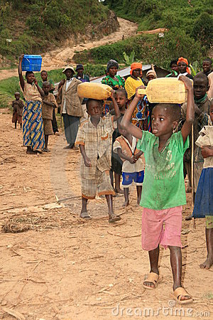 Free 2nd Nov 2008. Refugees From DR Congo Stock Photo - 7515640