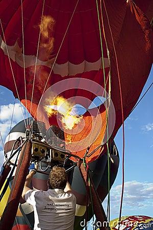 2nd Putrajaya International Hot Air Balloon Fiesta Editorial Stock Image