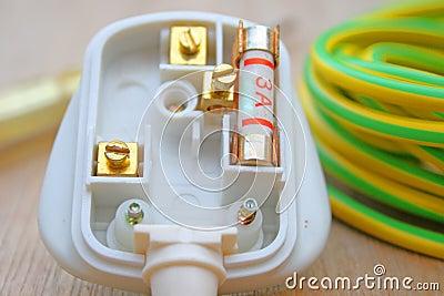 3 amp fuse and plug