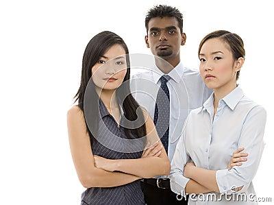 3 barn för affärsfolk