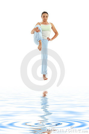 3 biały piasek się jogi