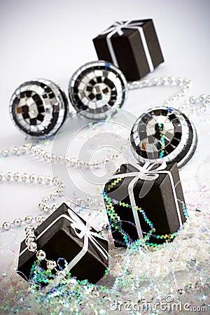 3 black gift box