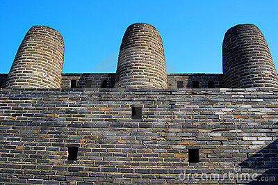 3 Chimney In Hwaseong Fortress,Suwon,