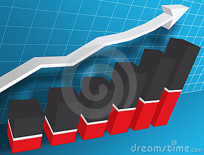 3-d Business Graph