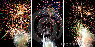 3 Fireworks pictures