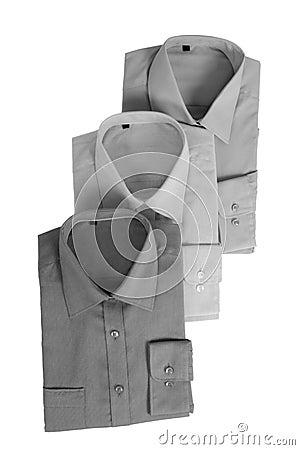 3 grey shirts