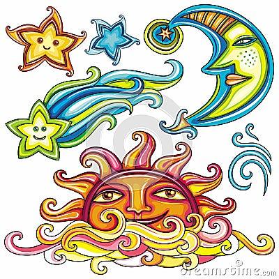 3 himmelska symboler