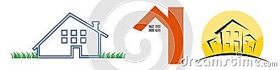 3 House logos