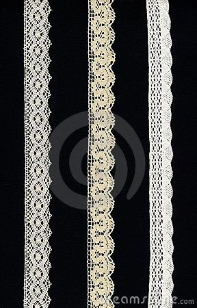 Free 3 Lace Borders Stock Photos - 4103203