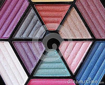 3 makeup paleta