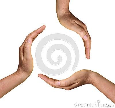 3 Open Hands