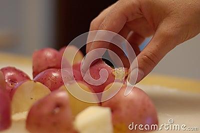 3 potatisar