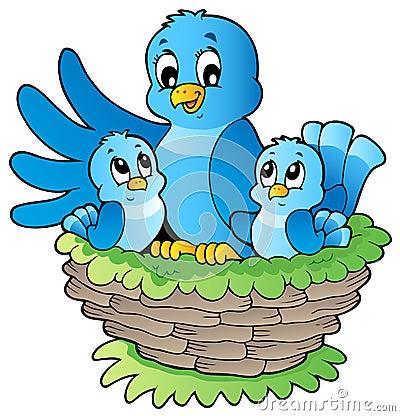 3 ptaków wizerunku temat