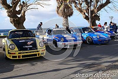 3° Rally del Corallo Editorial Stock Photo