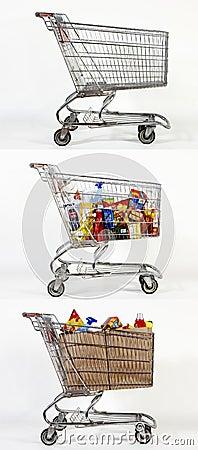 Free 3 Shopping Carts Stock Photos - 16795363