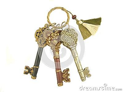 3 skeleton keys