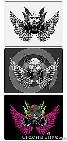 3 skull designs