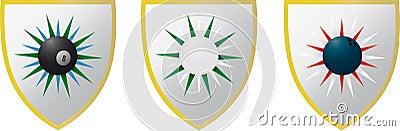 3 Sport Emblems