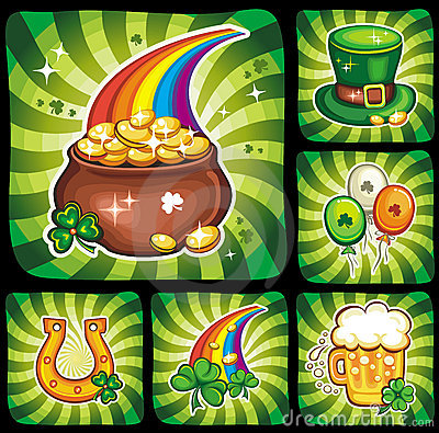 3   St. Patrick s Day icon set series 3
