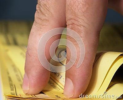 3 żółtej strony