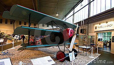 3 Wing Fokker Airplane in Berlin, Germany Editorial Stock Image