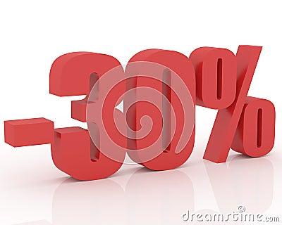 30  discount