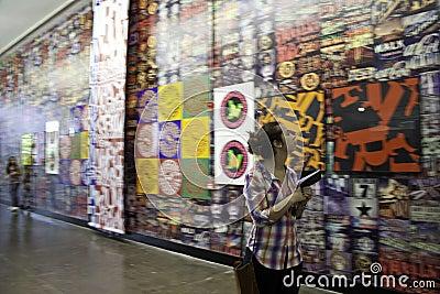 30 Sao Paulo Art Biennial Editorial Photo