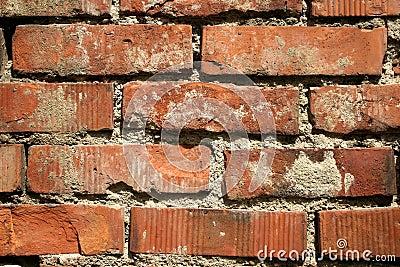 砖老红色墙壁