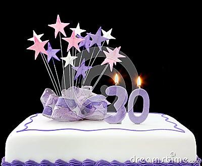 30ème gâteau