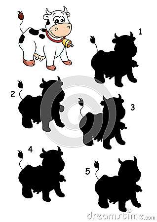 σκιά παιχνιδιών 31 αγελάδων