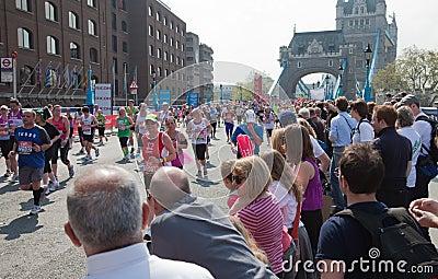 31st London Marathon Editorial Image